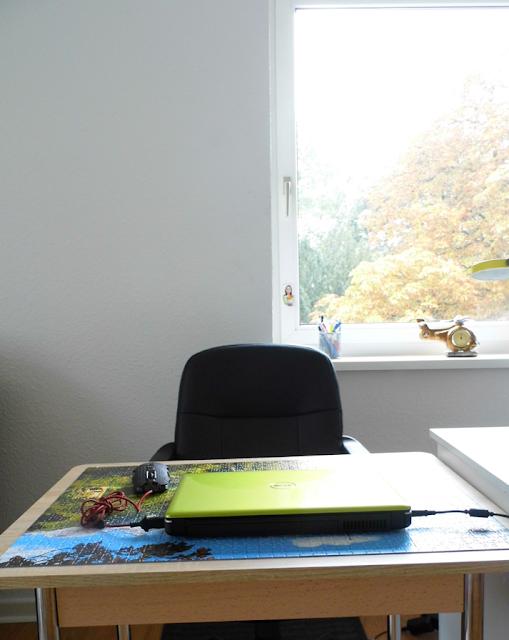 Where I blog - my desk