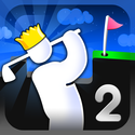 Super Stickman Golf 2 App iTunes App Icon Logo By Noodlecake Studios Inc - FreeApps.ws