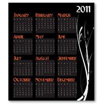 Calendário 2011- Ano internacional dos Afrodescendentes