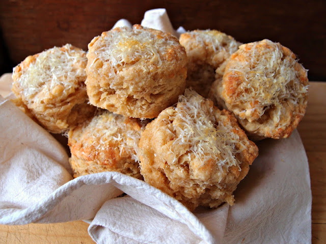 Milk and Honey: Cheddar and Parmesan Scones