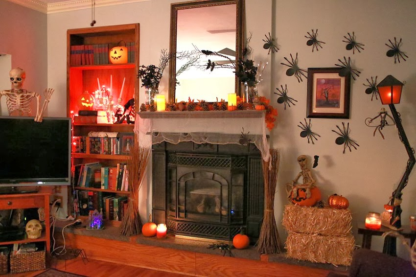 Decorating Ideas > OTIS (Odd Things Ive Seen) Our Halloweenest Halloween Nest ~ 175434_Halloween Living Room Decor