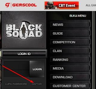 Cara Daftar Dan Buat ID Akun Game Black Squad Terbaru