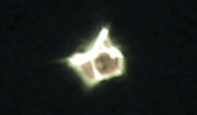 Shape Shifting UFO Caught Above New York 2015, UFO Sightings