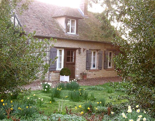 Estilo rustico jardines rusticos franceses - Jardines de casas rusticas ...