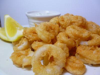 Vanilla Clouds and Lemon Drops: Crispy Calamari