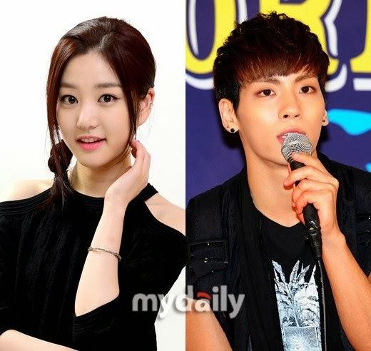 SHINee�den Jonghyun �le Aktris Lee Yoo Bi Sevgili mi? /// 29 Ocak 2014
