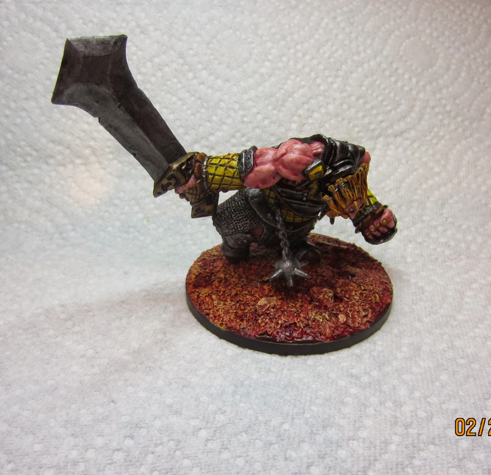Mini Swelter: Reaper Bones I Fire Giant Warrior and Bones ...