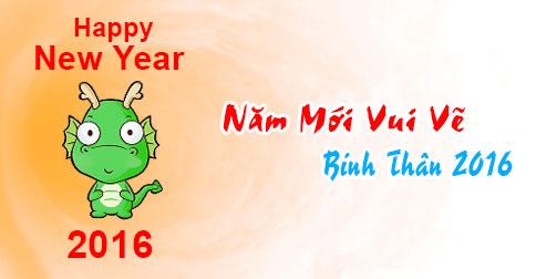 Ảnh chúc năm mới vui vẻ dễ thương nhất 2016 - ảnh 9