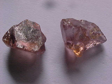 Rough LightPink Zircons 2