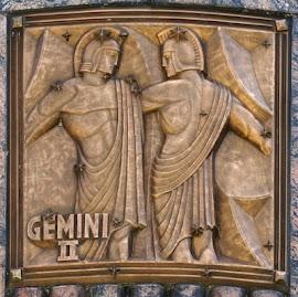 Géminis escultura