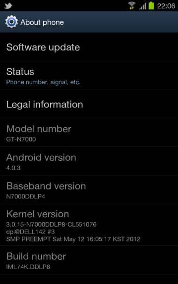 ICS (Ice cream Sandwich) update in India thourgh Samsung kies Software