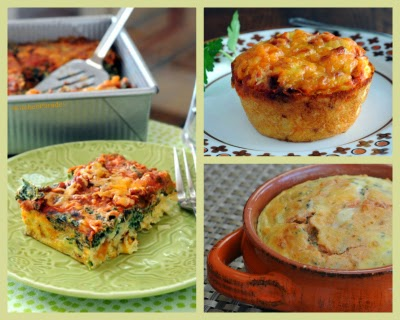 New master recipe for Easy Make-Ahead Breakfast Casserole. Serve it three ways, squares, on-the-go muffins or individual ramekins.