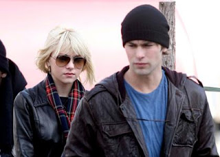 Chace Crawford With His Girlfriend Taylor Momsen