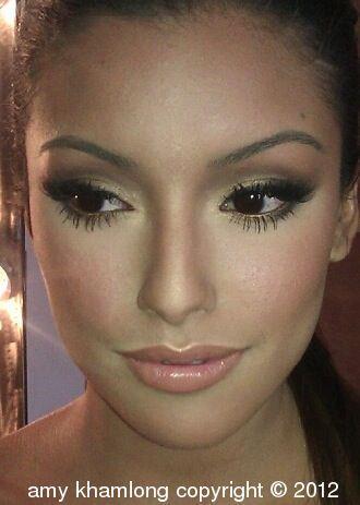 Brown Mink Eyelash Extensions 117