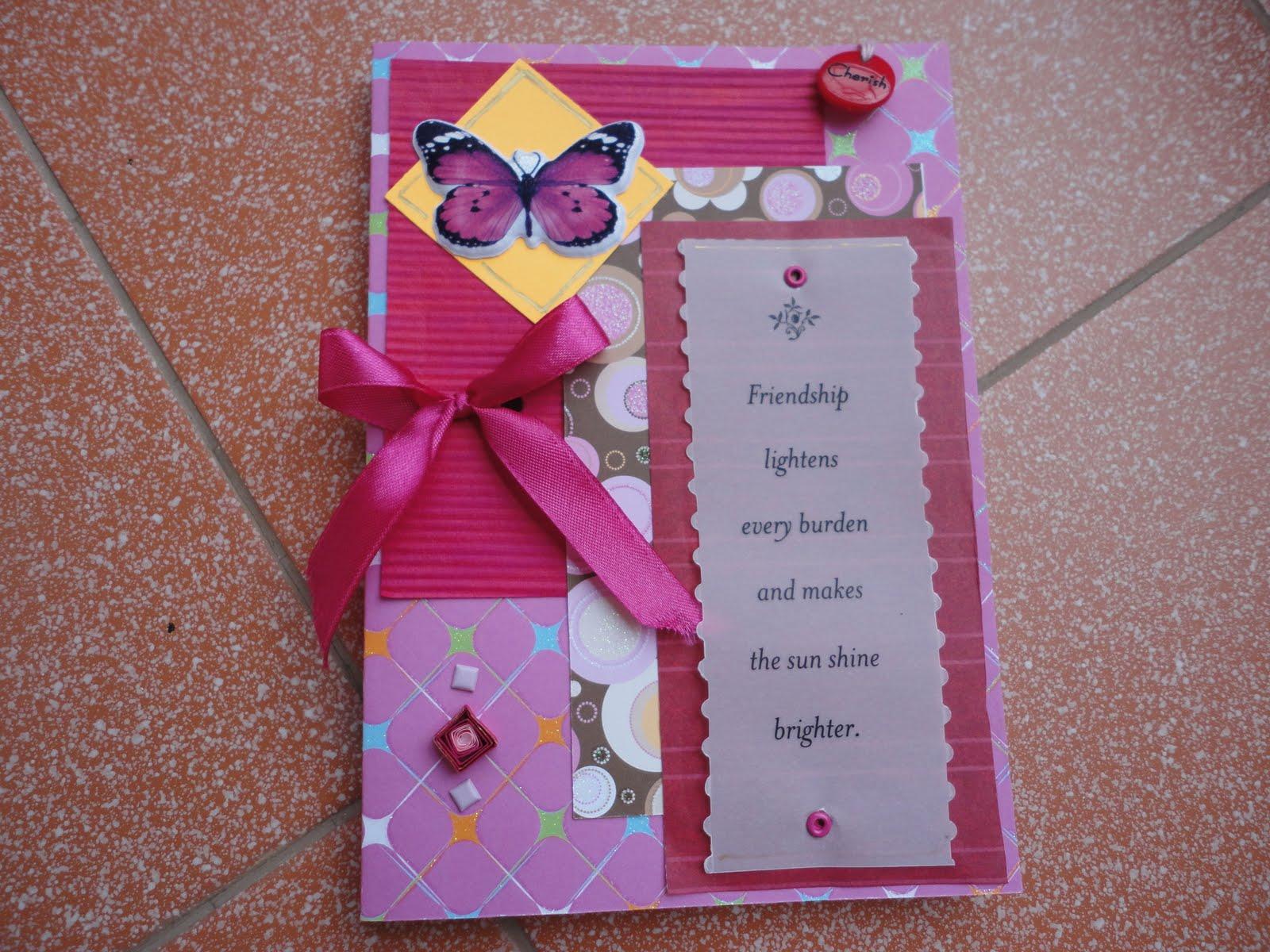 Kraftaria A Friendship Day Card Box