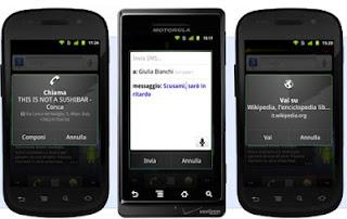 APP ANDROID PER CHIAMARE ED INVIARE SMS CON LA VOCE GRATIS