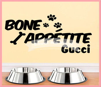 Bone Appetite Wall Decal