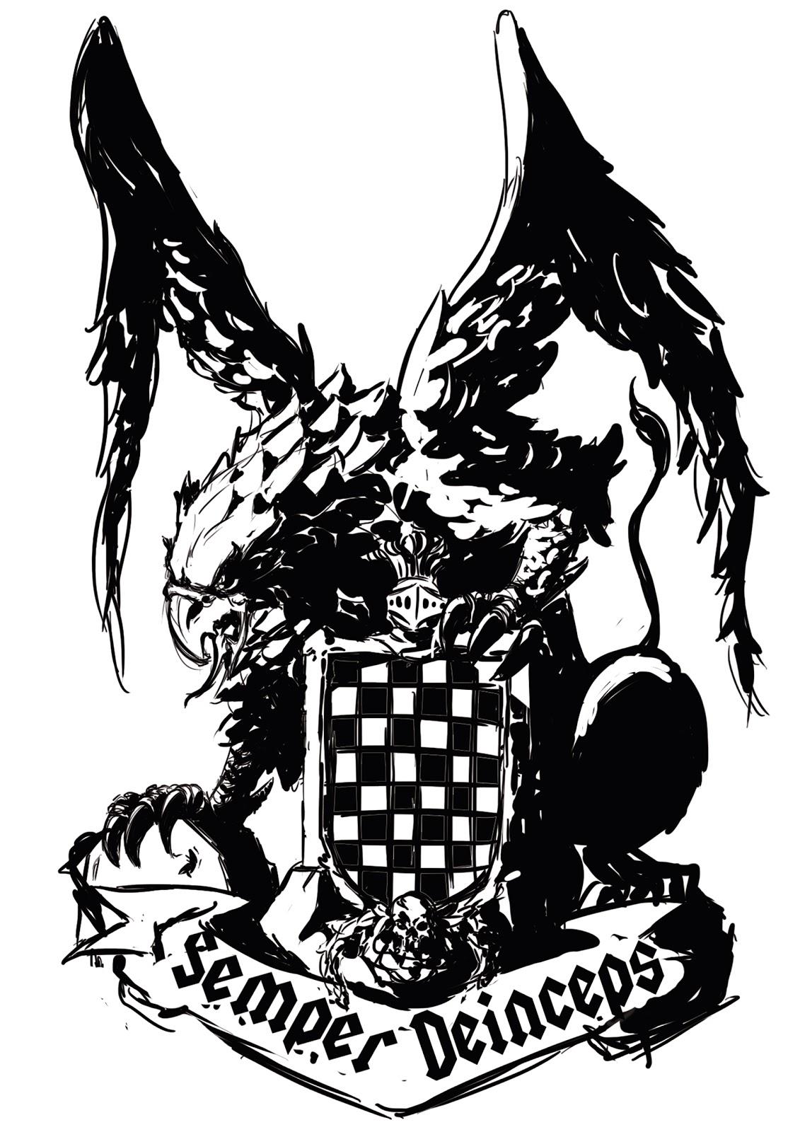 Somonton comic art encarguillos tatuajes for Grifo dibujo