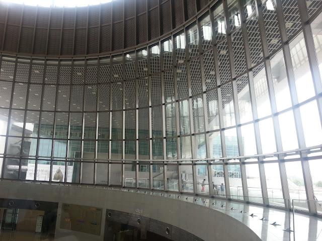 Main building of National Museum of Korea
