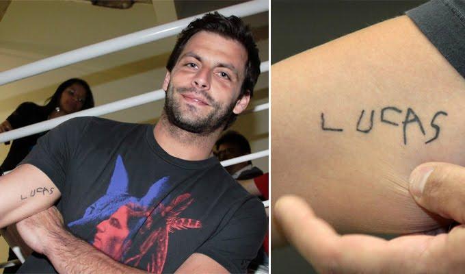 Henri castelli faz tatuagem com o nome do filho no brao altavistaventures Gallery