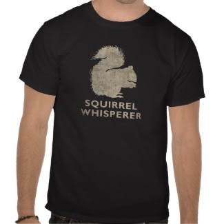 Vintage Funny Squirrel Whisperer Shirts, t shirts, and clothing