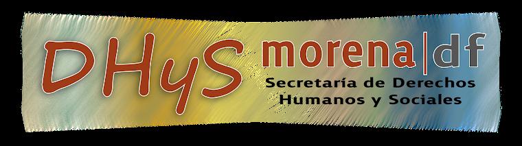 Derechos Humanos Y Sociales MORENA DF