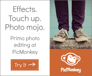 See my latest PicMonkey tutorials . . .