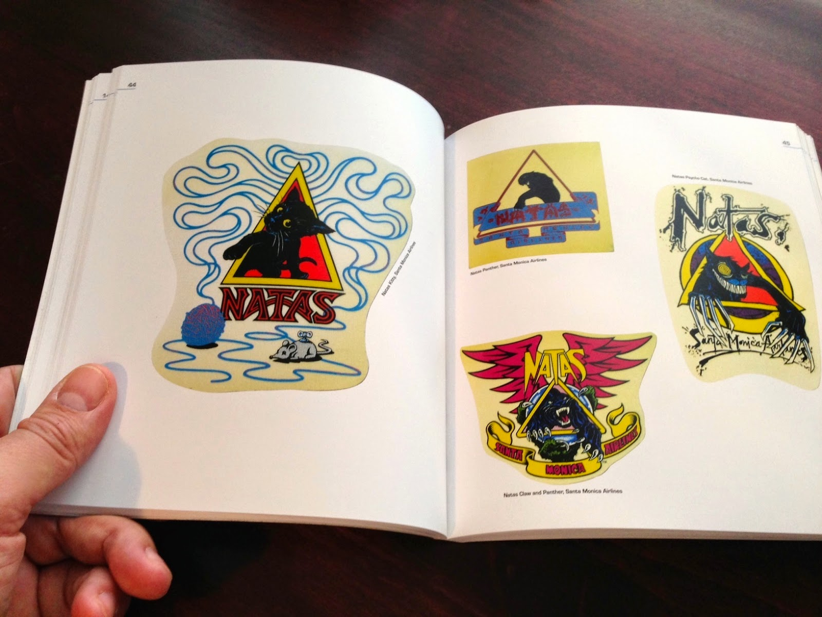 One Of The Big Pluses In The Book Is That It Is Not Onlyprised Of  Pictures Of Skate Stickers (though That Is What It Primarily Is Of Course),