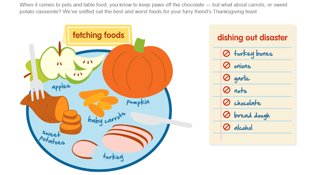 List of food dangers on Thanksgiving