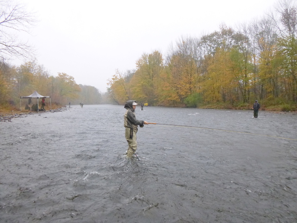 Going to the water salmon fishing pulaski ny for Salmon river ny fishing