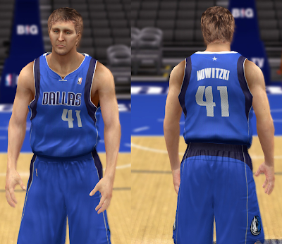 NBA 2K14 Dallas Mavericks Jersey Pack