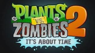 Plant vs zombie 2 apk data