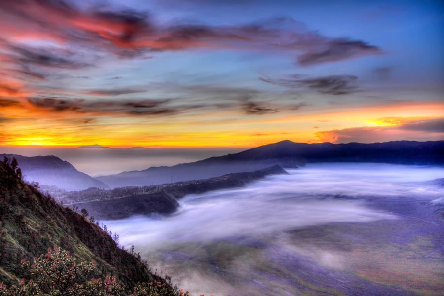 bromo sunrise