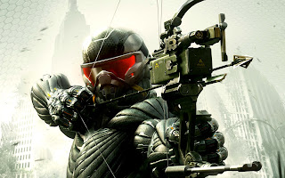 Crysis 3 Alcatraz with Archer in Nanosuit HD Wallpaper