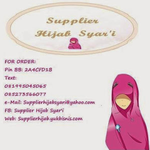Supplier Hijab Syar'i