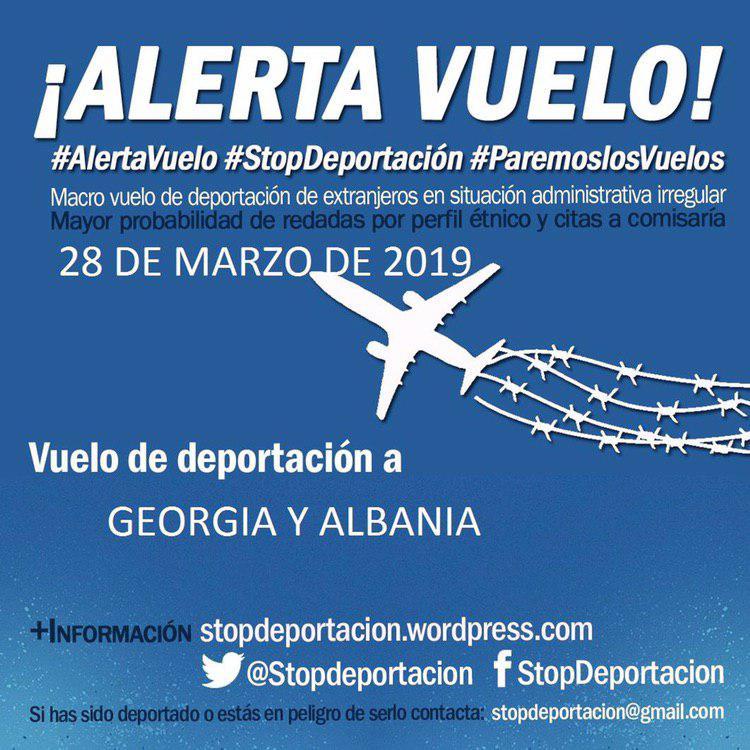 #AlertaVuelo