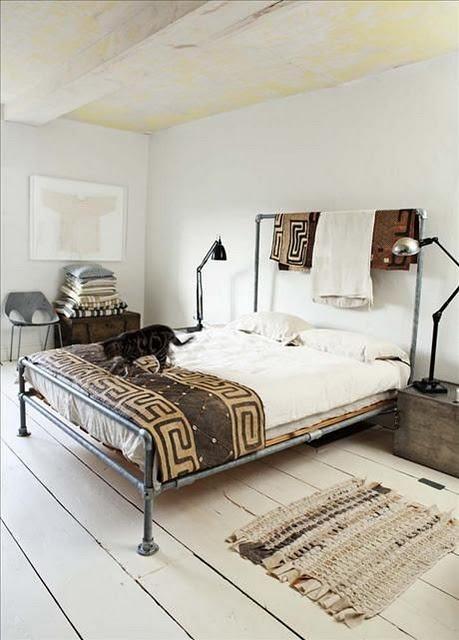 Tribal Chic Design Decor Kuba Cloth Bedroom Chair Living Room Frog Hill Designs Blog
