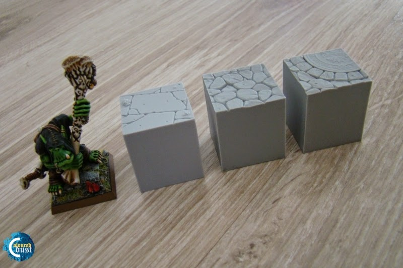 Resin Display Bases - Secret Weapon