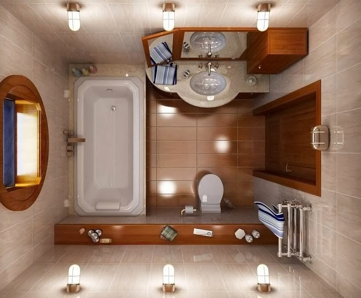 Baño Pequeno Dimensiones:Decoración y Afinidades: Baños de Pequeñas Dimensiones