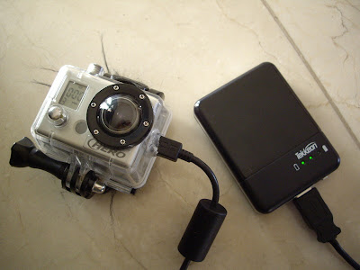 DIY GoPro HD Extended Battery Pack