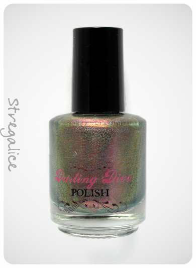 Darling Diva Space Beetle duochrome holographic