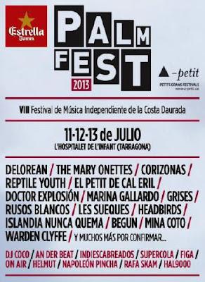 Palmfest 2013 cartel integro
