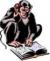 Monkey cartoon