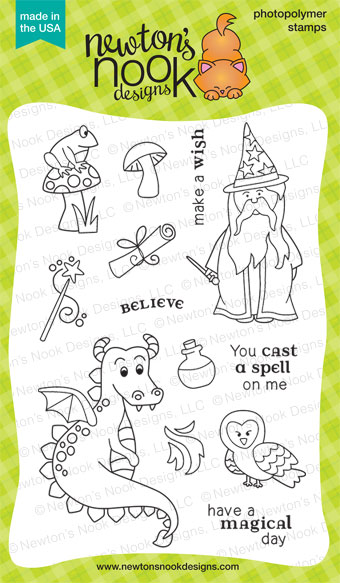 Magical Dreams Photopolymer stamp set by Newton's Nook Designs