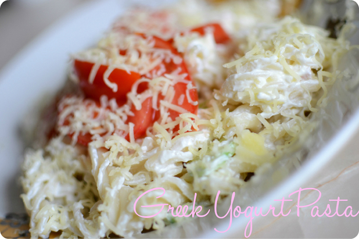 greek yogurt pasta