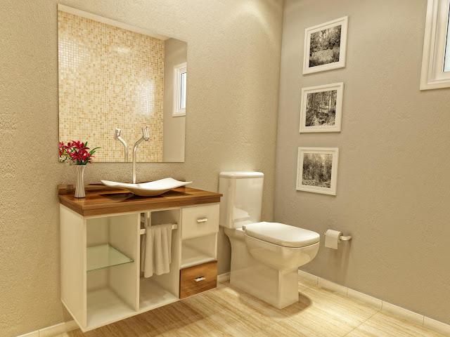 Banheiros Modernos, quais são as tendências?  Decor Salteado  Blog de Decor -> Banheiro Planejado Chique