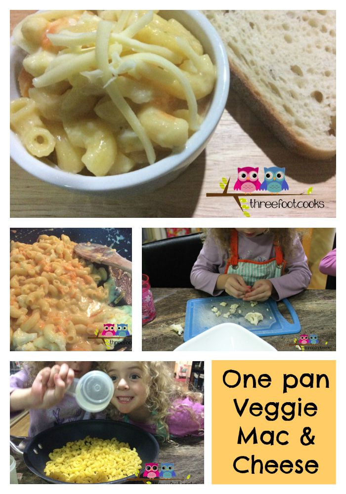 is for Veggie Mac and Cheese {Childhood 101 Guest Post}