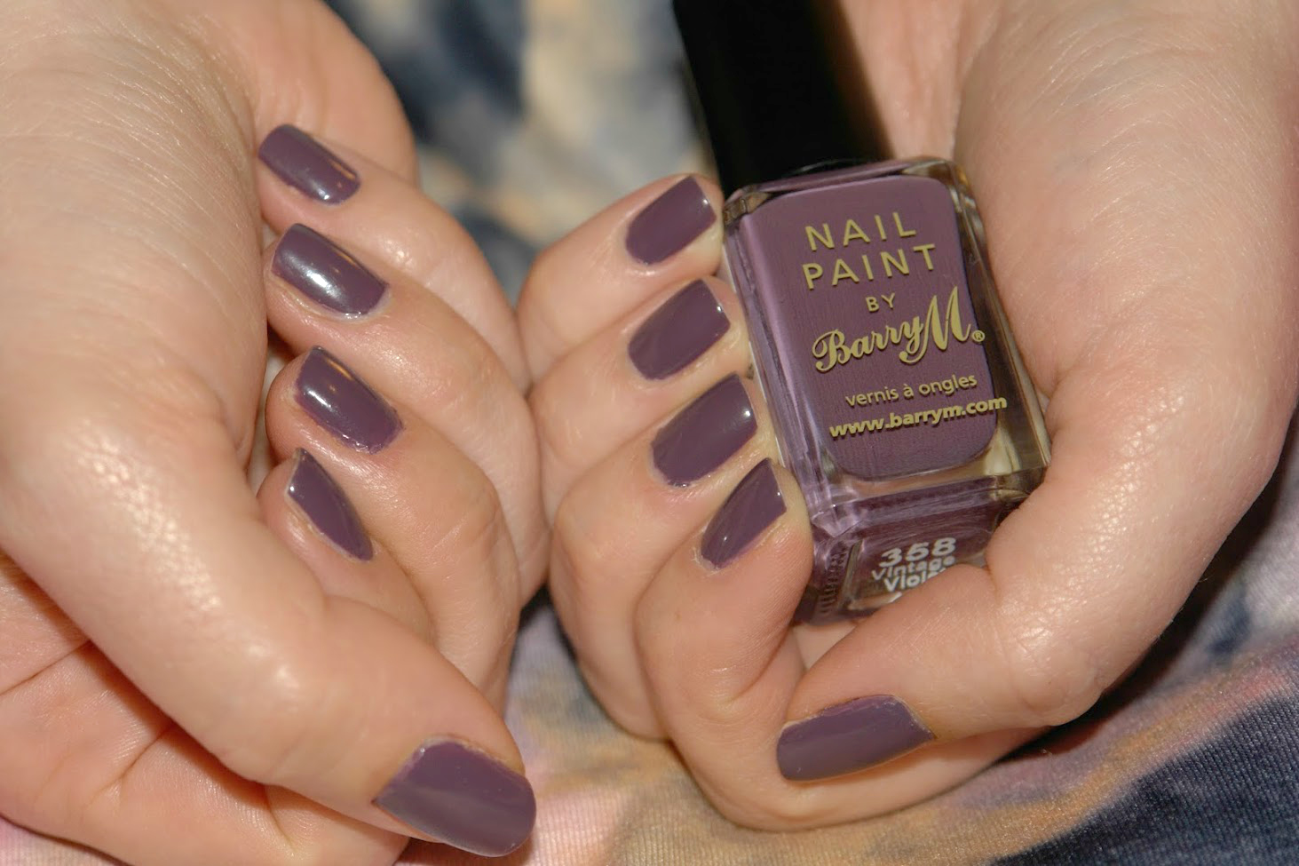 NAILS: Barry M Vintage Violet, Barry M, nail polish, nails, NOTD, purple, swatches,