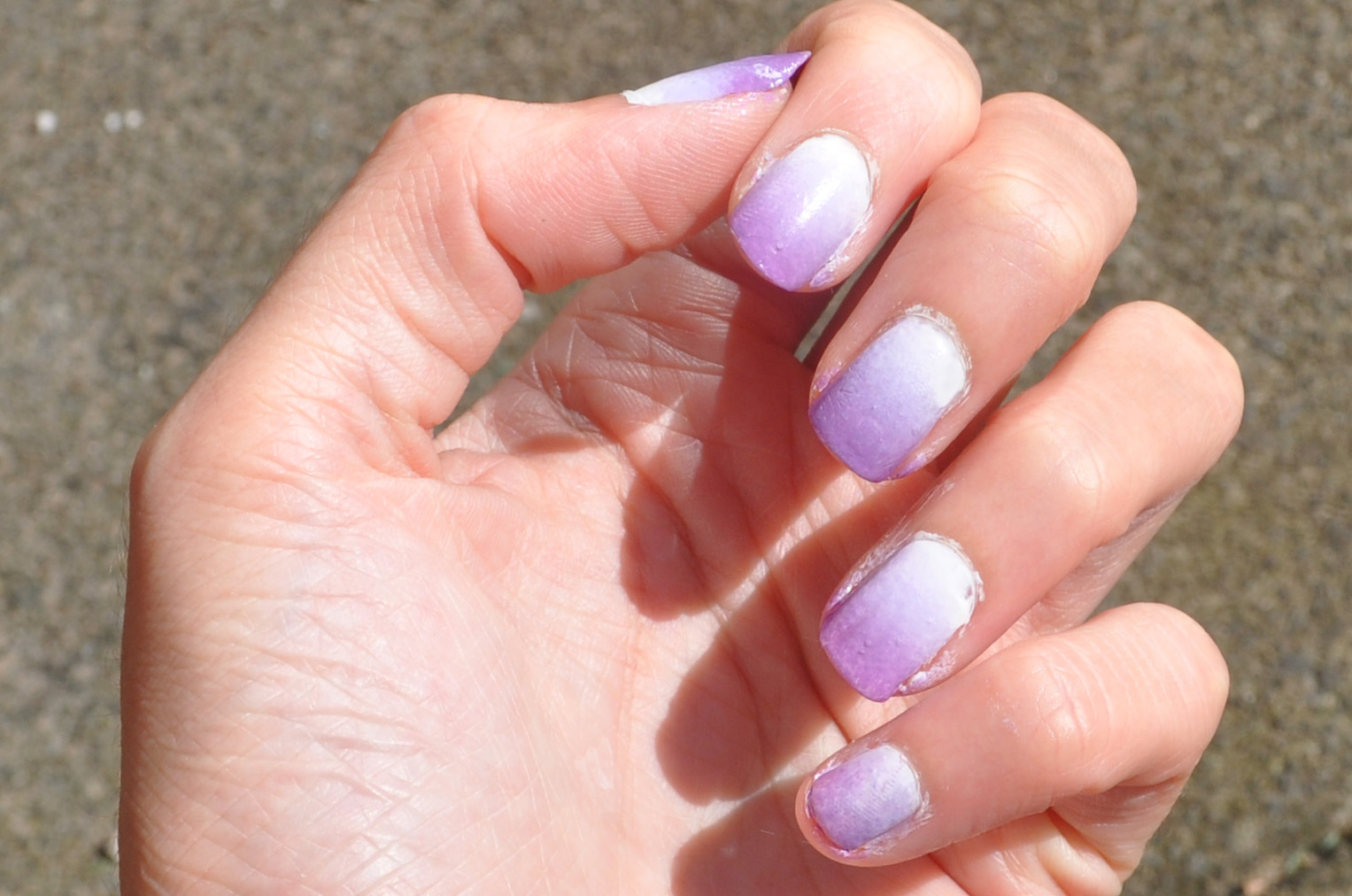 Dip Dyed Nails To Die For!!!