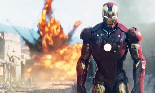 iron man explosion
